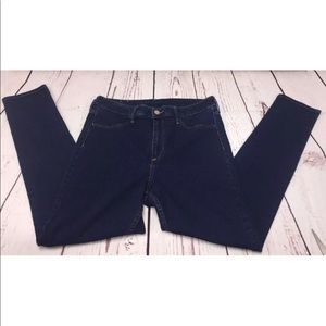 H&M Jeans Skinny High Waist Ankle Size 33